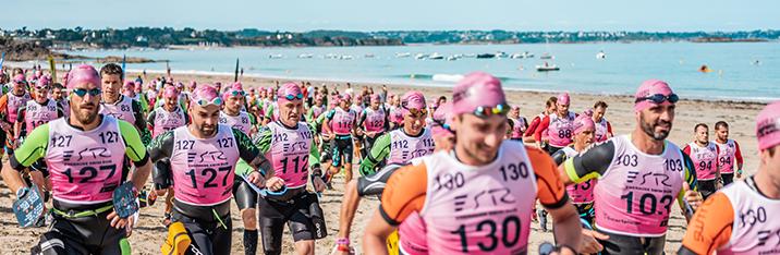Participez à l'épreuve historique du Triathlon Dinard Côte d'Emeraude - Lepape le dimanche 12 septembre 2021 à partir de 13:00.